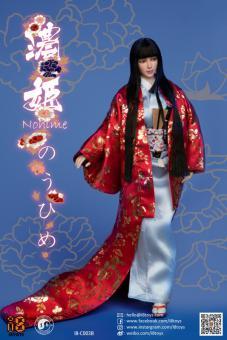 Female Japanese Nohime Set (Red)