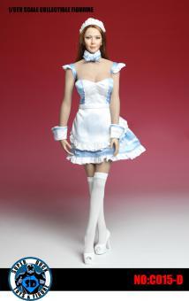 Female Maid Set (Blue) 1/6