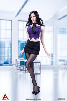 Female Sexy Secretary Set (Purple)