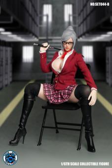 Female Sexy Teacher Set (Red)