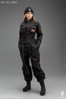 Female Work Wear Set (Black) 1/6
