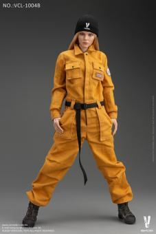 Female Work Wear Set (Yellow) 1/6