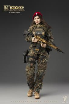 1/6 Flecktarn Woman Soldier - Kerr