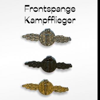 Frontspange für Kampfflieger set 1/6 in Metal