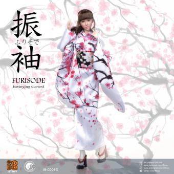 Furisode Female Clothing Set (White)