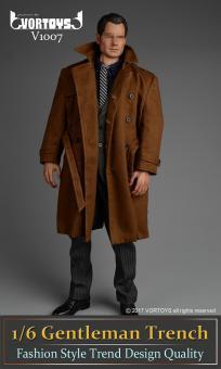 Gentleman Trench Coat Set