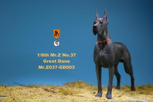 German Great Dane Dog (Grey) 1/6