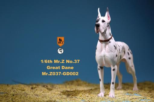 German Great Dane Dog (White) 1/6
