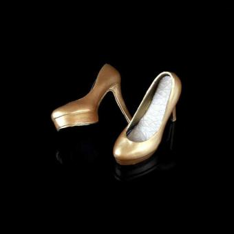 Woman High Heels Shoes -gold
