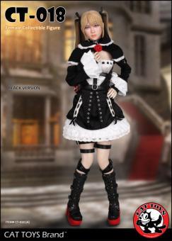 Gothic Fighter Girl (Black Version) 1/6