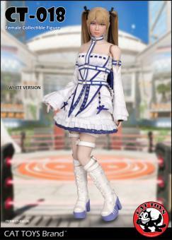 Gothic Fighter Girl (White Version) 1/6