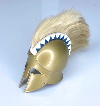 Greek Corinthian Hoplite helmet (Metal)