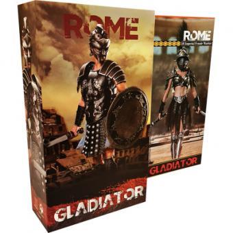 1/6 Empire Legion-Empire Gladiator,Imperial Female Warrior (HH18018 Set of Black)