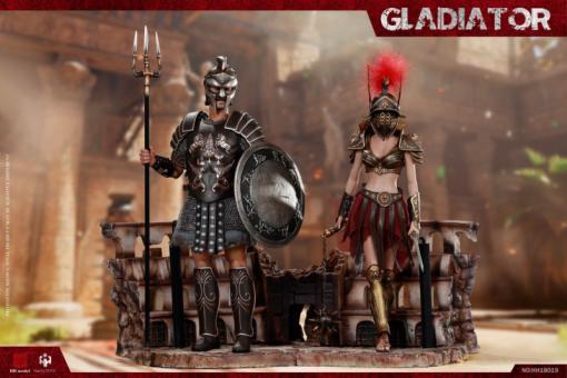1/6 Empire Legion-Empire Gladiator,Imperial Female Warrior (HH18018 Set of Red)