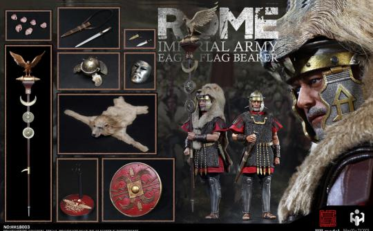 1/6 Rome Imperial Army - 1/6  Imperial Army  Aquilifer