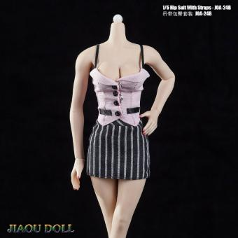 1/6 Hip Suit With Straps Set (Pink)