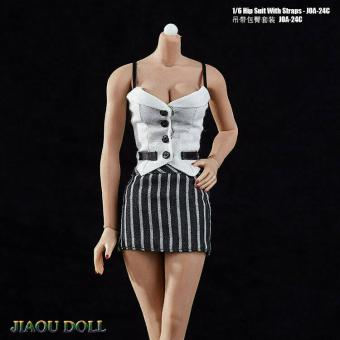 1/6 Hip Suit With Straps Set (White)