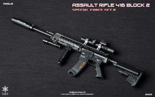 416 X1 Sniper Rifle Argus (B)