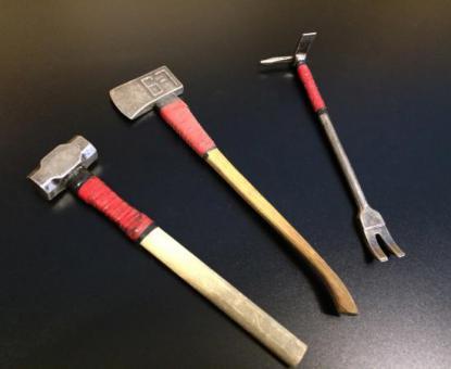 Feuerwehr Werkzeug Set Metal
