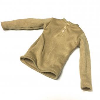 Unterhemd wolle braun
