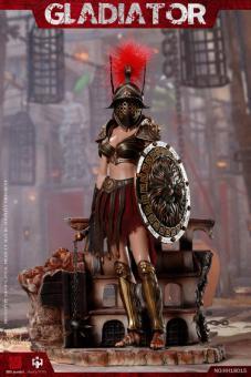 1/6 Imperial Legion - Imperial Female Warrior (Red Version)