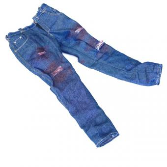 Jeans battle damaged with blood 1/6