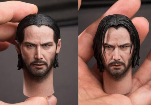 John Head Sculpt with 2 Hair Designes