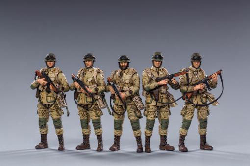 1:18 US Airborn Squad (5 Figuren)