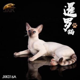 Siamese Cat (White) 1/6