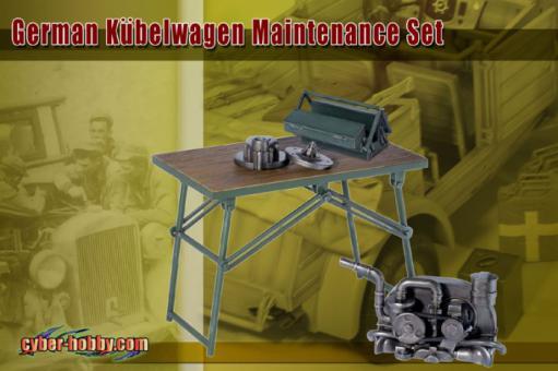 German Kübelwagen Maintenance Set
