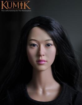 Kumik Asian Female Headsculpt KM13-78