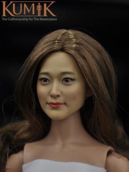 Asian Beauty Head 1/6 Kumik  KM16-28B