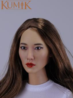 Asian Beauty Head 1/6 Kumik  KM16-37