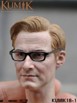 1/6 Colin Firth Head Sculpt Harry Hart