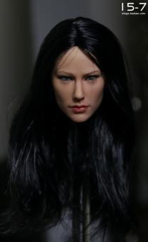 Kumik Black long Hair Head