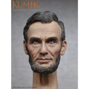 Kumik Abraham Lincoln Headsculpt 1/6