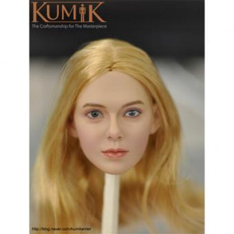 Kumik Blond Head sculp 1/6