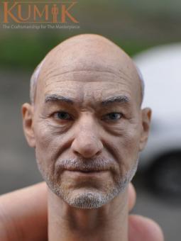 Kumik Male Head Picard Headsculpt 1/6