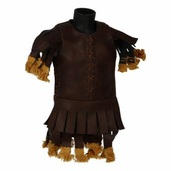 Leather Roman Legionary Pteruges Tunic (Brown)