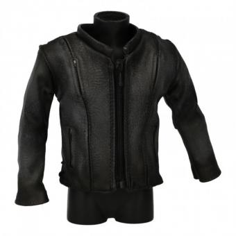 Leather The Locomotive Jacket (Grey) 1/6