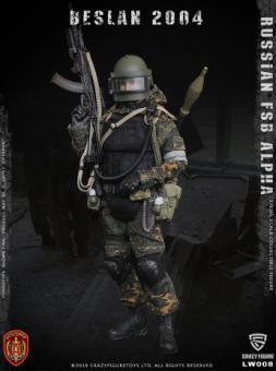 1/12 Russian FSB Alpha Special Forces Beslan 2004 - Grenadier