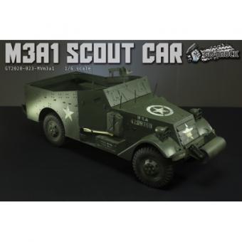 M3 White Scout Car 1/6 in Metal