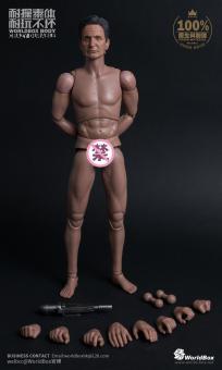 World Boxer Nackte Figur