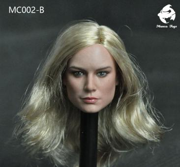 Mancotoys 1/6 Scale MC002 Head Sculpt