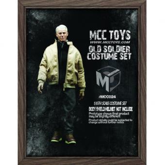 Steve Rogers - Old Soldier Costume Set