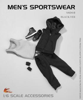 Men's Sportwear Set (Black) 1/6