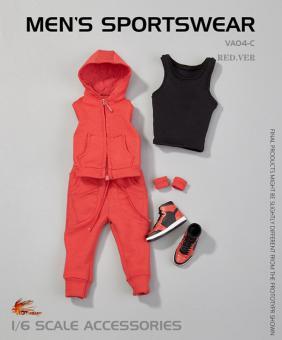 Men's Sportwear Set (Red) 1/6