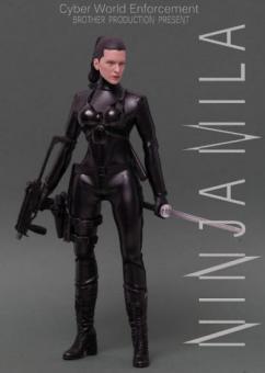 Resident Evil Ltd 200pcs, black Kunoichi Figur Alice 1/6
