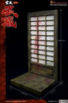 1/6 Miyamoto Musashi Display Stand Diorama (Brown)