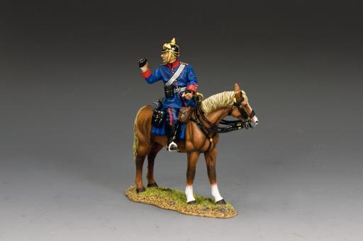 Infanterie-Offizier zu Pferd